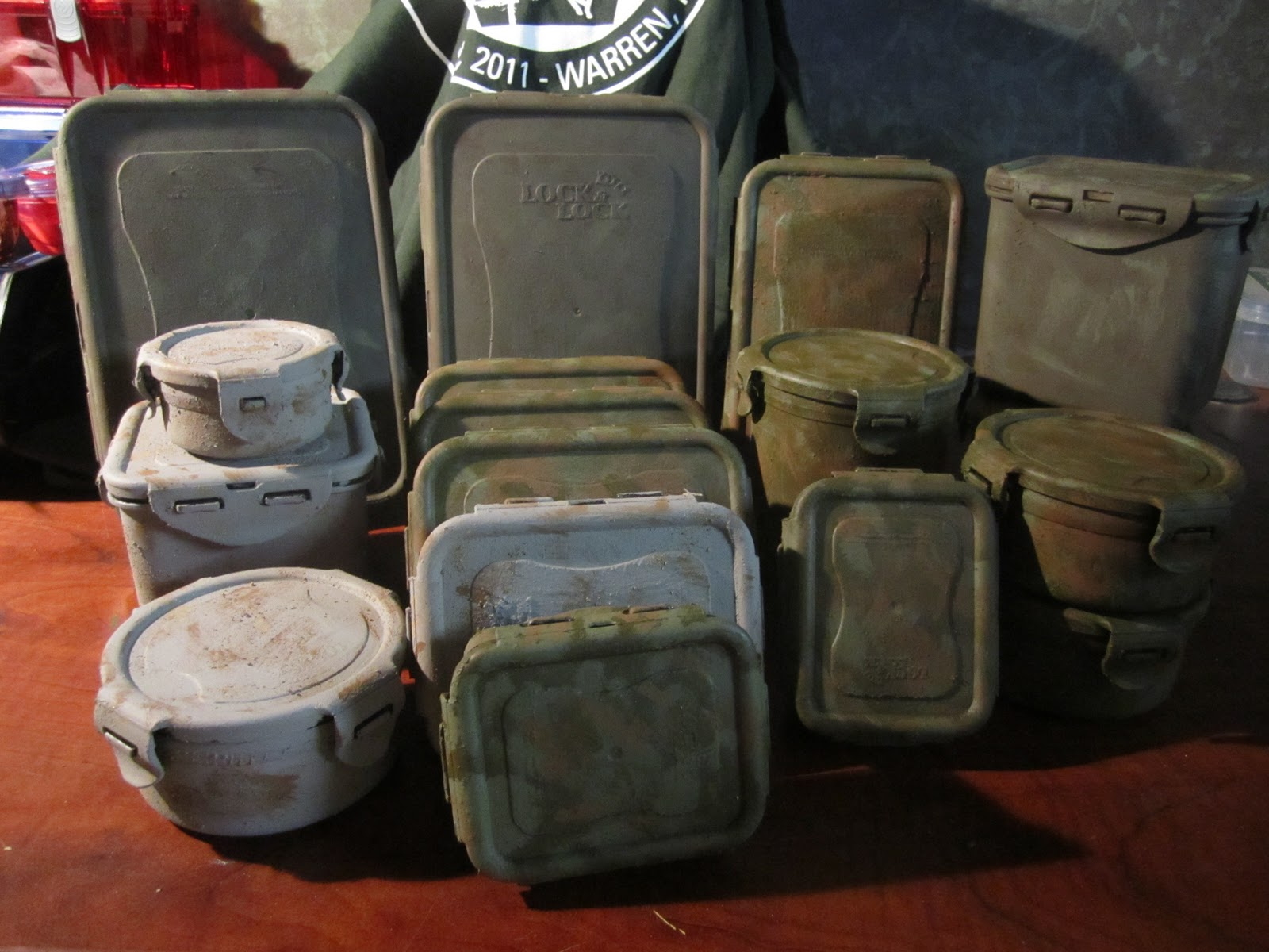 Different Types of Geocaching Containers