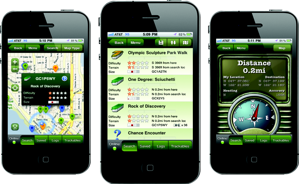 Top Android or iPhone Apps for Geocaching