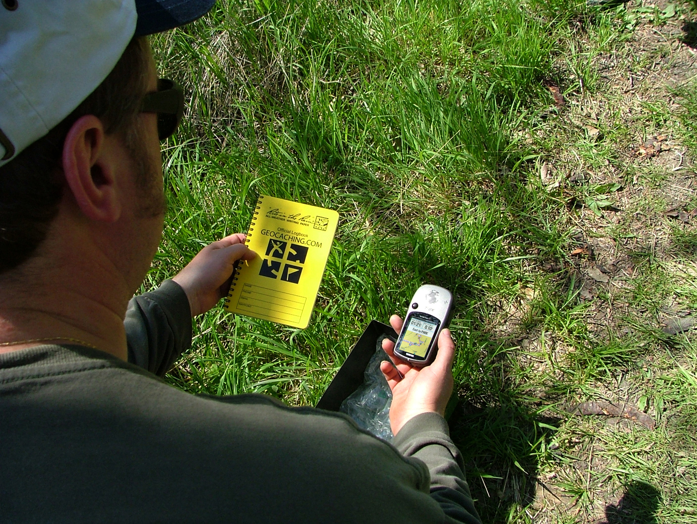 What Is Geocaching Caching Box